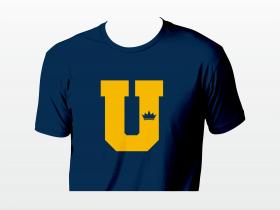 U blue T-krekls